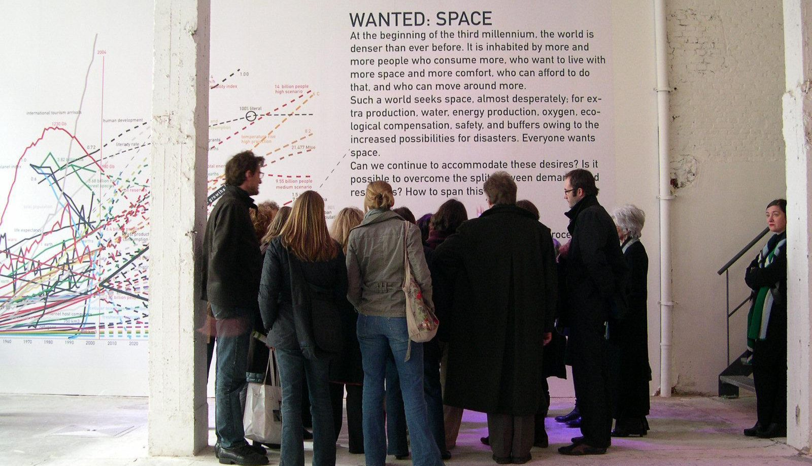 BRXL Bravo (5 March 2007). View of the exhibition: MVRDV: Piece by Piece (6 February – 10 March 2017).