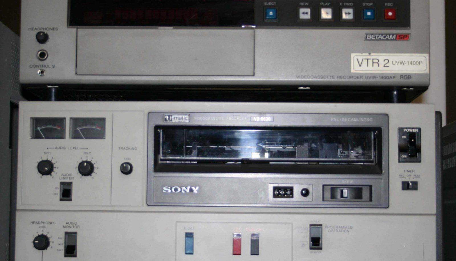 Playback equipment.