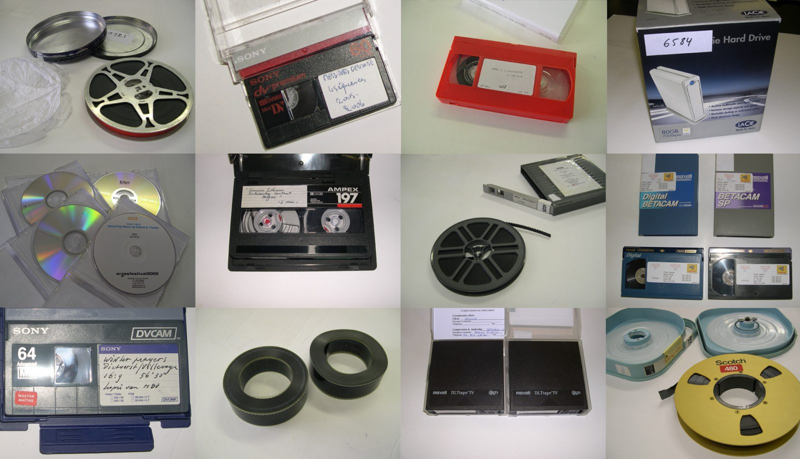 Selection of analog carriers from the ARGOS archive.
